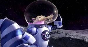 """Lo scoiattolo Scrat nel nuovo cartoon """"L'era glaciale: in rotta di collisione""""."""