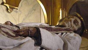 Il corpo del Santo Curato d'Ars