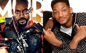 """L'attore Will Smith nei panni del malvagio (a sinistra), nella pellicola campione d'incassi """"Suicide Squad""""."""