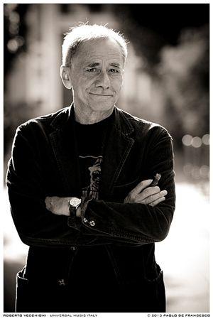 Roberto Vecchioni (Foto di Paolo De Francesco).