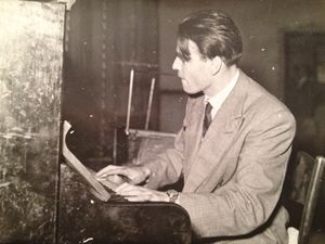Kurt Sonnenfeld. Foto Collezione privata Locatelli, Milano