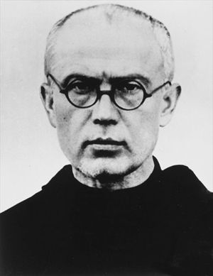 Massimiliano Maria Kolbe (foto Wikipedia)