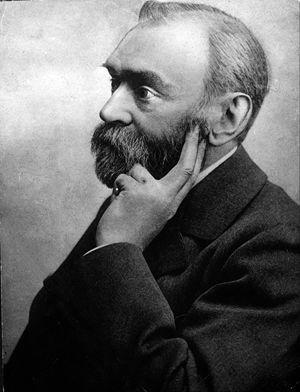 Alfred Bernhard Nobel. Foto Ansa.
