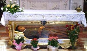 le spoglie mortali di Santa Giuseppina Bakhita