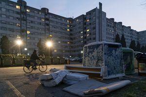 Un'immagine del quartiere (foto di Giovanni Panizza per Famiglia Cristiana)