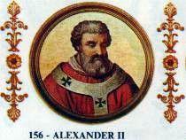 Papa Alessandro II, Anselmo di Baggio.