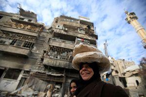 Aleppo vuol tornare a vivere. Foto Reuters.