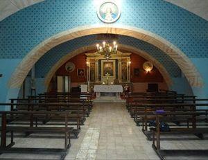 La cappella del carcere di Paliano. Foto: Radio Vaticana.