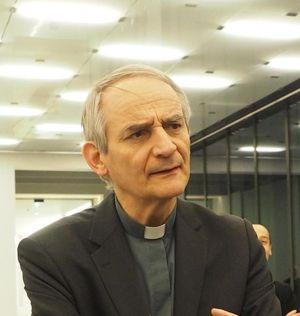 Monsignor Matteo Maria Zuppi, arcivescovo di Bologna  (foto Ansa)