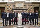 Papa Francesco a Lazio e Juventus: