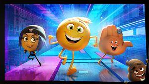 Una scena del film Emoji - Accendi un'emozione