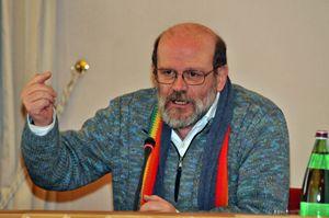 Don Renato Sacco, sacerdote della diocesi di Novara, coordinatore nazionale di Pax Christi Italia.