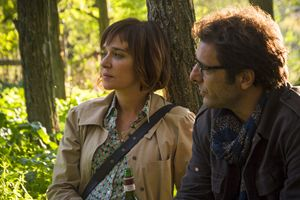 Valeria Golino con Adriano Giannini in una scena di Il colore nascosto delle cose