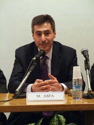 Asfa Mahmoud è presidente della Casa di cultura musulmana di via Padova