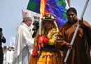 Tutti i colori della Messa del Papa a Iquique