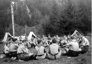 Le Aquile Randagie riunite in Val Codera