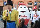Kinder Ferrero, la grande festa ad Alba per i suoi 50 anni