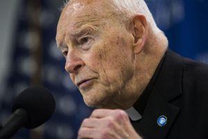 L'arcivescovo Theodore McCarrick, al centro dello scandalo per abusi sessuali