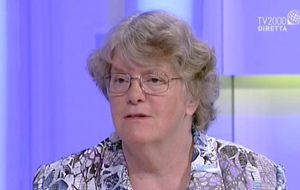 Suor Sally Hodgdon, foto Tv 2000