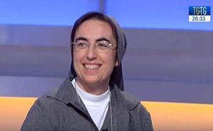 Suor Alessandra Smerilli. Foto: Tv 2000.