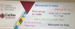 """Il progetto """"Protetto, rifugiato a casa mia"""" ha coinvolto 76 diocesi e 551 migranti nelle parrocchie e nelle famiglie ed è stato esteso a chi è arrivato in Italia con i corridoi umanitari finanziati dalla Cei (foto nell'articolo: Ansa)"""