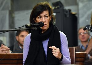 Valeria Imbrogno, fidanzata di Fabiano Antoniani (Ansa)