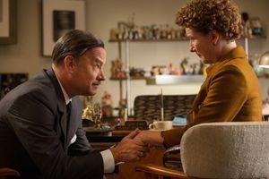 "Tom Hanks e Emma Thompson nel film ""Saving Mr Banks"" dove interpretano Walt Disney e Pamela Lyndon Travers"