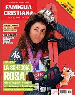 La copertina di Fc del numero 12 del 2017 con l'intervista a Sofia Goggia.