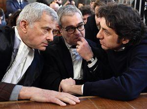 Marco Cappato in Aula a Milano durante l'ultima udienza del processo