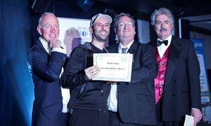 Matteo Salvo alla premiazione degli International Master of Memory 2013