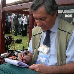 Lucio Brunelli, 66 anni. Foto Ansa.