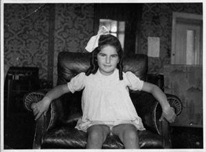 Liliana Segre da bambina