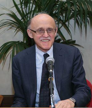 Il professore Luigi Campiglio, 72 anni