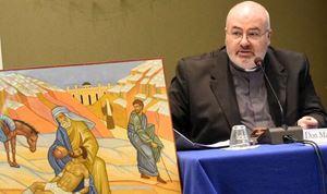 Don Massimo Angelelli, direttore dell'Ufficio nazionale per la pastorale della salute della Conferenza episcopale italiana.(Cei).