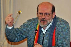 Don Renato Sacco, 64 anni.