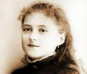 Santa Teresa di Lisieux a 13 anni