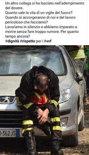 Il post scritto da Nino Candido su Facebook nel giugno scorso, rilanciato in queste ore.