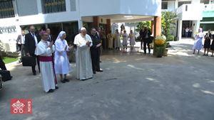 La seconda giornata del Papa in Thailandia in 60 secondi