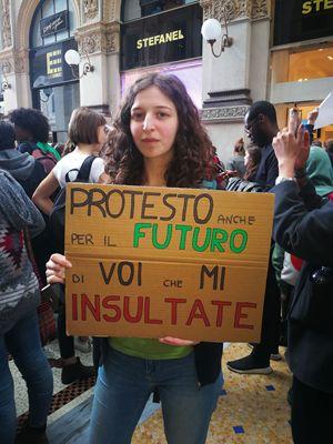 Giuditta, 20 anni, studentessa di Scienze ambientali all'Università Bicocca di Milano