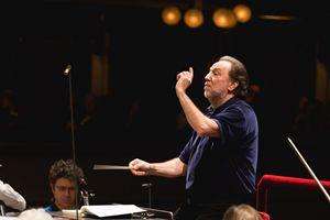 Il maestro Riccardo Chailly (foto Giuseppe Peletti)