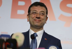 Ekrem Imamoglu, neosindaco (se sarà confermato) di Istanbul (Reuters).