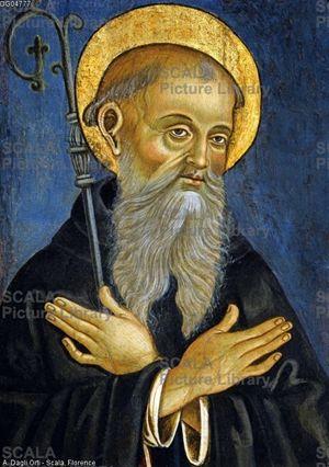 San Benedetto da Norcia, patrono d'Europa.