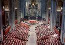 L'annuncio di papa Giovanni XXIIII accolto in silenzio dai cardinali