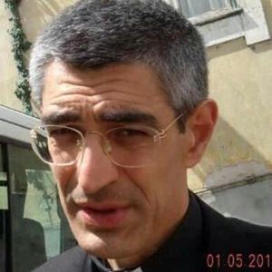 don Nicola Zenoni parroco di Casal Bruciato