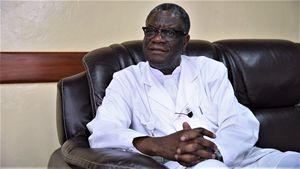 Qui e in copertina il dottor Denis Mukwege, Premio Nobel per la Pace 2018 (tutte le foto di questo servizio sono di Francesco Cavalli e Alessandro Rocca).