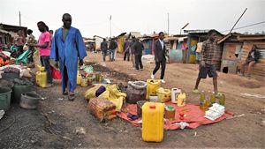 Un particolare del mercato principale di Bukavu (RD Congo), città adagiata sul lago Kivu al confine col Ruanda.