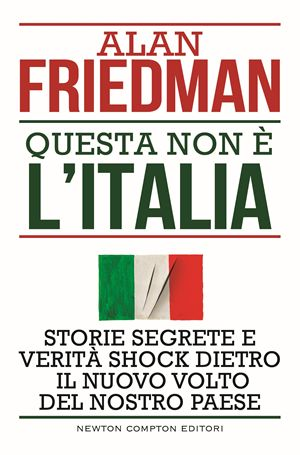 La copertina dell'ultimo libro di Alan Friedman