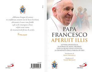 La copertina della lettera apostolica con cui papa Francesco istituisce la Domenica della Parola