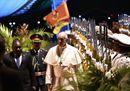 Il Papa in Mozambico, le immagini dell'accoglienza