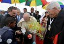 Le più belle immagini della visita del Papa alle Mauritius